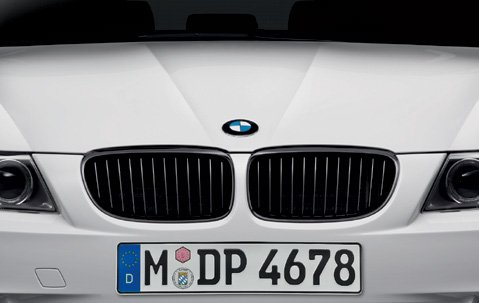 BMW Genuine M Performance Front Right Grille Black M3 E90 E92 E93 51712155450