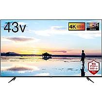 【お買い得】TCL 43V型 4K対応液晶テレビ 43K601U