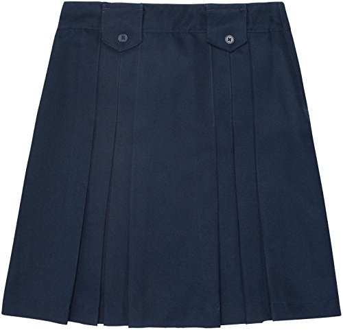 French Toast School Uniforms Girls Front Pleated Skirt wi...