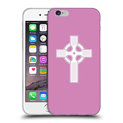 """GoGoMobile Coque de Protection TPU Silicone Case pour // Q09270618 Croix chrétienne 37 Bronze // Apple iPhone 6 4.7"""""""
