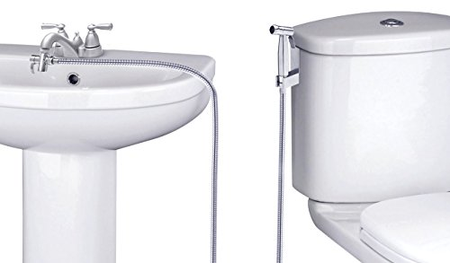 SmarterFresh Faucet Sprayer Warm Water Bidet, Hot