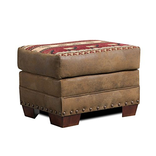 American Furniture Classics Sierra Lodge Ottoman