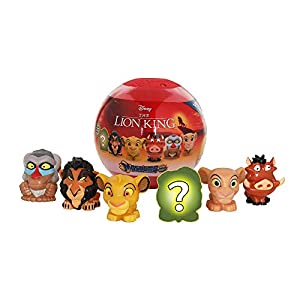 Basic Fun Official Mash'ems Super Sphere – Lion King Series 1 – Squishy Collectible Figures – 6 Pack – Amazon Exclusive