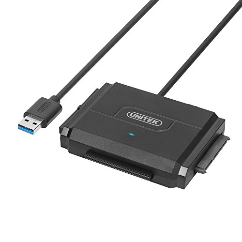 (SATA/IDE to USB 3.0 Adapter, UNITEK IDE Hard Drive Adapter for Universal 2.5