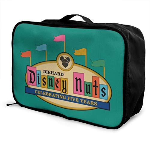 DDN5 Offical Lightweight Large Capacity Portable Luggage Bag Fashion Travel Duffel Bag