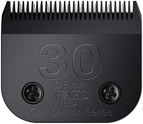 Show Pro Horse Clipper - Wahl Professional Animal Ultimate Competition Series #30 Detachable Blade for Wahl's KM10, KM5, KM2, KM2 Deluxe, Power Grip, SS-Pro, and Stable Pro Plus (#2355-500)