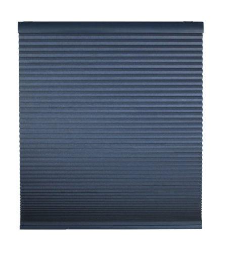 (DEZ Furnishings QEBL220640 Cordless Blackout Cellular Shade 22W x 64L Inches Deep Blue)