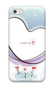 Ortiz Bland FbbIKWc246kgNyD Case For Iphone 5/5s With Nice Christmas Anime Girls Pics Appearance