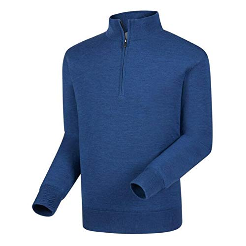 (FootJoy Performance Lined Merion Sweater Heather Indigo)