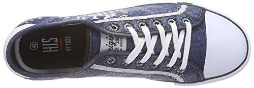 HIS 151-018 - Zapatillas Hombre Azul - Blau (blue fog)