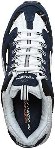 Darse Prisa Compra Tu Propia La Mejor Compra Skechers Men's Stamina Cutback Trainers, Blue (Navy Leather/White Mesh/Trim NVW), 8 (42 EU)  ibZt6Y cB2Yfk 3JwuJ7
