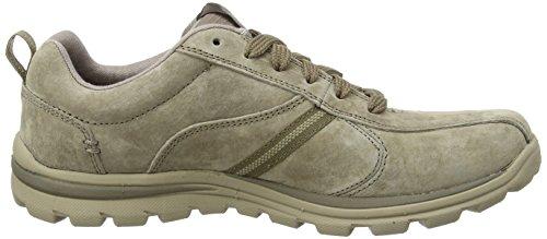 skechers SUPERIOR- ABRASIVE - Zapatillas de deporte para hombre Marrón - Brown (Light Brown LTBR)