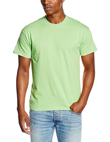 Fruit Of The Loom NEU Display Stars Original Komplettes Cut T-Shirt - Limettengrün, 3XL