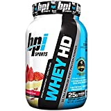 BPI Sports Whey-HD Ultra Premium Whey Protein Powder, Strawberry Cake, 2 Pound