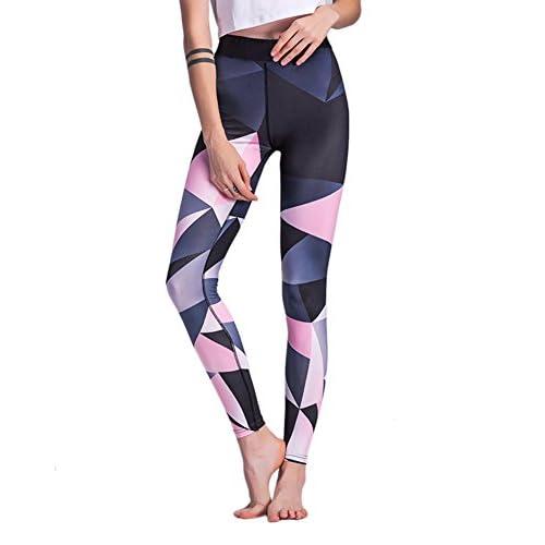 Femme Élégant Impression Legging De Sport Running Yoga Pantalon De Jogging
