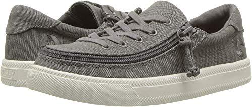 BILLY Footwear Kids Unisex Classic Lace Low (Toddler/Little Kid/Big Kid) Dark Grey 2 M US Little - Sneakers Unisex Footwear