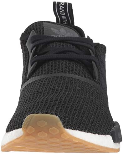 adidas Originals Men's NMD_R1 Running Shoe, Black/Gum, 8.5 M US