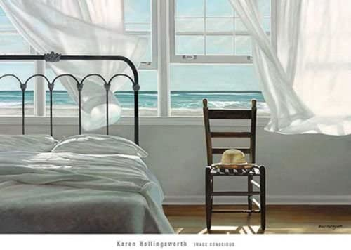 SEASCAPE ART PRINT The Dream of Water Karen Hollingsworth