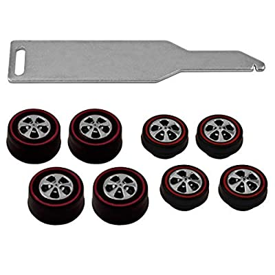 Brightvision Redline Tune-Up Kit #5 - 4 Small & 4 Med Hong Kong Bearing Style: Toys & Games