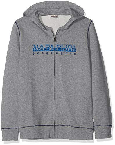 shirt Napapijri Banak 160 Sweat Grey Garçon med Gris Mel q1E1wPrAx