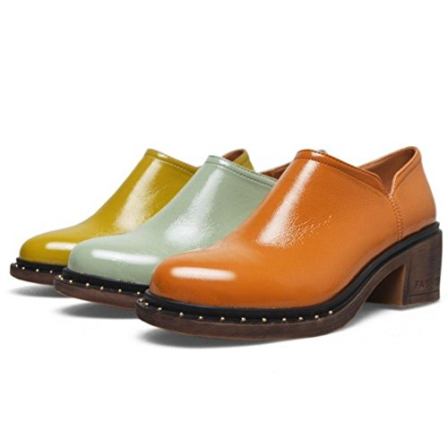 Oxford 1 Donna Classico Yellow Zanpa Green Scarpe PwaEqzz