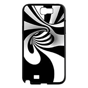Colorful Stripes Design The Unique Printing Art Custom Phone Case for Samsung Galaxy Note 2 N7100,diy cover case ygtg602157