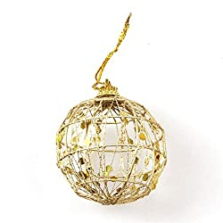 Gold Ball Christmas Tree Decoration