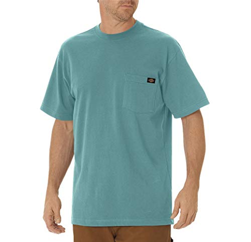 Dickies Men's Heavy Weight Crew Neck, Dockside Blue, 2X
