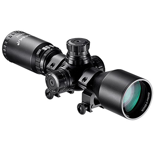 BARSKA 3 9x42 Contour Riflescope Mil Dot