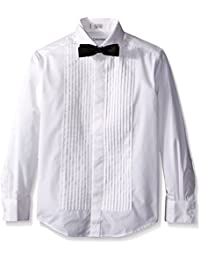 Boys' Long Sleeve Tuxedo Shirt and Bowtie