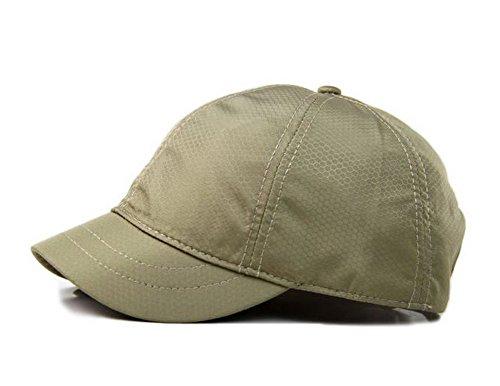 Crazy Cart Hot Sell Adjustable Men and Women Sun Hat Breathable Short Brim Baseball Cap ()