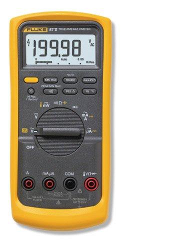 Fluke 87V True RMS Digital Multimeter - Calibrated