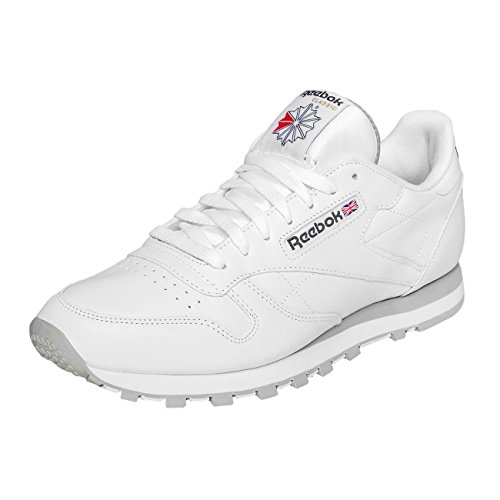 Reebok Herren Classic Leather Low-Top Weiß
