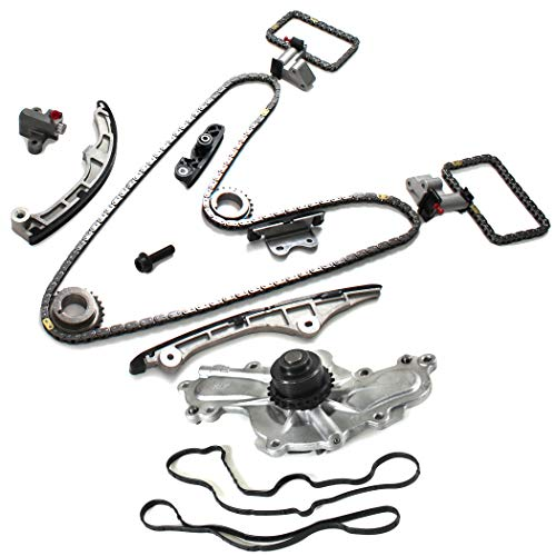 07-10 FORD/LINCOLN 3.5L (3496CC) V6 DOHC (24-Valve), Duratec Brand New Engine Timing Chain Kit & Water Pump -