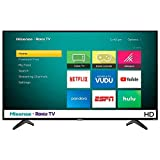 "Hisense 32"" 720p Televisor HD Pantalla LED TV Roku Smart con WiFi 3 entradas de HDMI y 1 entrada de USB Netflix YouTube Vudu Pandora Hulu y ESPN 32H4030F (Renewed)"
