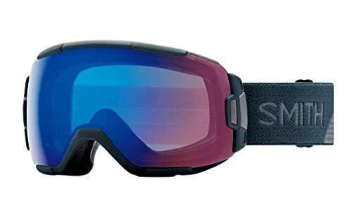 Smith Optics Adult Vice Snow Goggles Thunder Split Frame/ChromaPop Storm Rose - Velocity Goggles Price