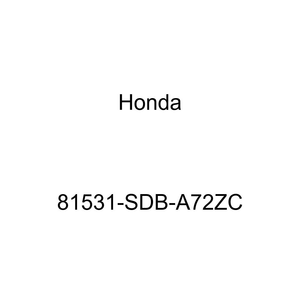 Honda Genuine 81531-SDB-A72ZC Cushion Trim Cover