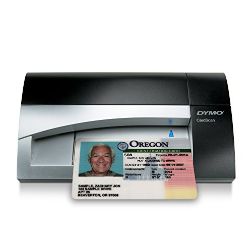 DYMO CardScan v9 Executive Business Card Scanner and