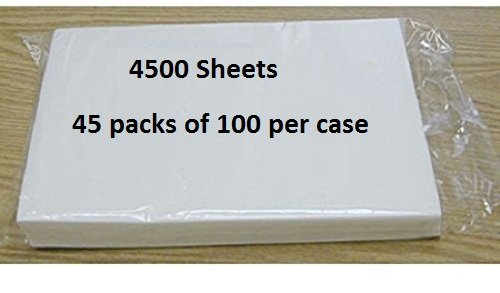 Oasis Supply Master Case Edible Rectangle Rice and Wafer Paper, 8 by 11-Inch, 4500 Sheets
