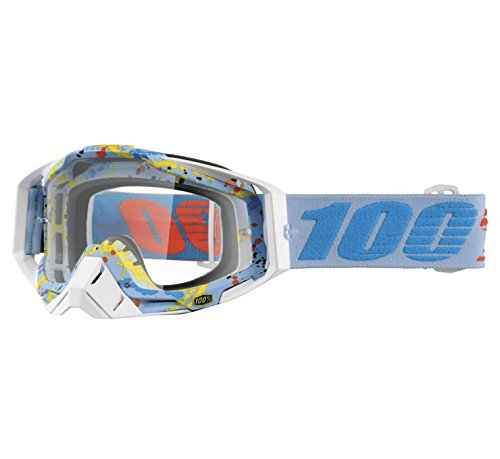 100% Racecraft Goggles - Hyperloop with Clear Lens