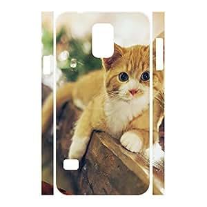 XiFu*MeiAwesome Custom Animal Series Cat Pattern Phone Accessories Skin for Samsung Galaxy S5 I9600 CaseXiFu*Mei