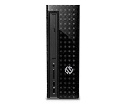 HP Slimline 260-a010 Desktop (Intel Pentium J3710, 1TB HDD, 8GB RAM, Onboard Wi-fi, Windows 10) (Certified Refurbished)