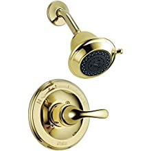 Delta Faucet T13220-PBSHC Classic MonitorR 13 Series Shower Trim, Polished Brass