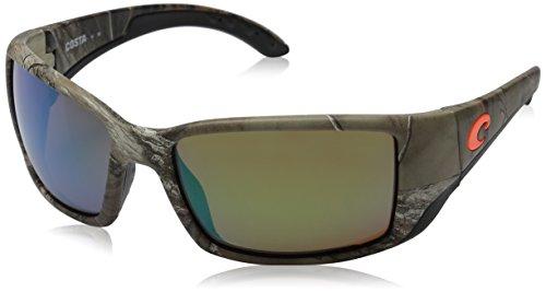Costa Del Mar Blackfin Sunglasses, Realtree Xtra Camo, Green Mirror 580 Glass - Backcountry Sunglasses
