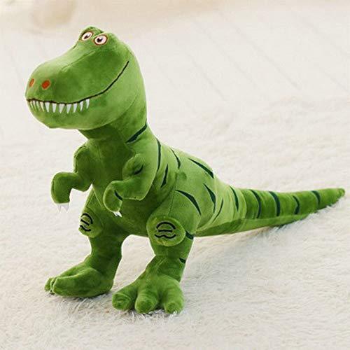 WATOP Dinosaur Plush Toys Hobbies - Kawaii Tyrannosaurus Rex Plush Dolls - Stuffed Toys for Children Boys ( Green) from WATOP