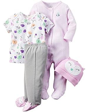 Baby Girls' 4 Piece Set (Baby)