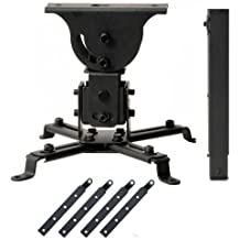 VideoSecu Projector Ceiling Mount with 4 pieces 5.5 inch Extension Adaptors for Epson 8350 Projectors 1YF