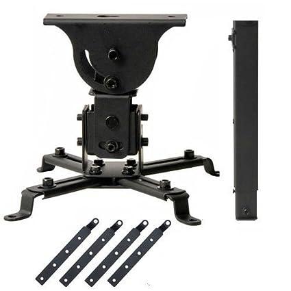 VideoSecu soporte de techo para proyector 4 piezas 5.5 Inch ...