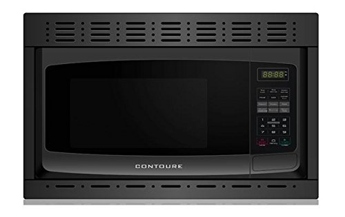 Built-In Microwave Oven  Black - 0.9 Cuft. - RV-980B