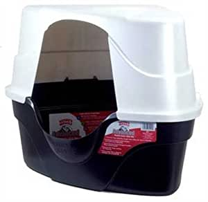 Nature's Miracle Advanced Hooded Corner Litter Box (P-5915)